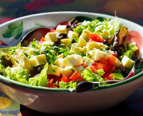 Elige una dieta ligera y refrescante